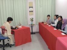 2010忘年会 茶道
