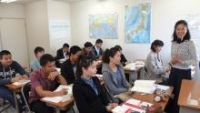 2013春初級1新学期古藤先生